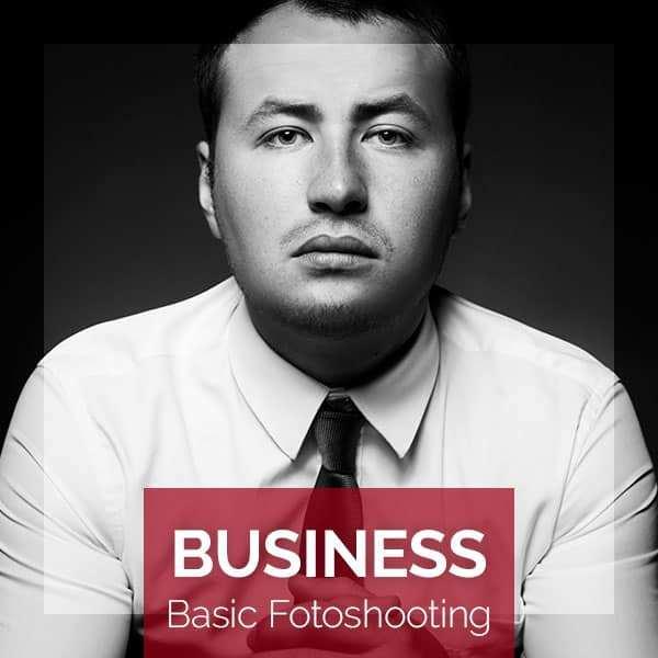 Produktbild für das BUSINESS Basic Fotoshooting für eine Person im BEAUTYSHOTS Fotostudio Hamburg