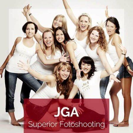 Produktbild für das JGA Superior Fotoshooting | Junggesellinnenabschied mit 9 Freundinnen bei Beautyshots Hamburg