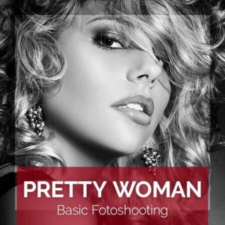 Produktbild für das PRETTY WOMAN Basic Fotoshooting für eine Frau im BEAUTYSHOTS Fotostudio Hamburg