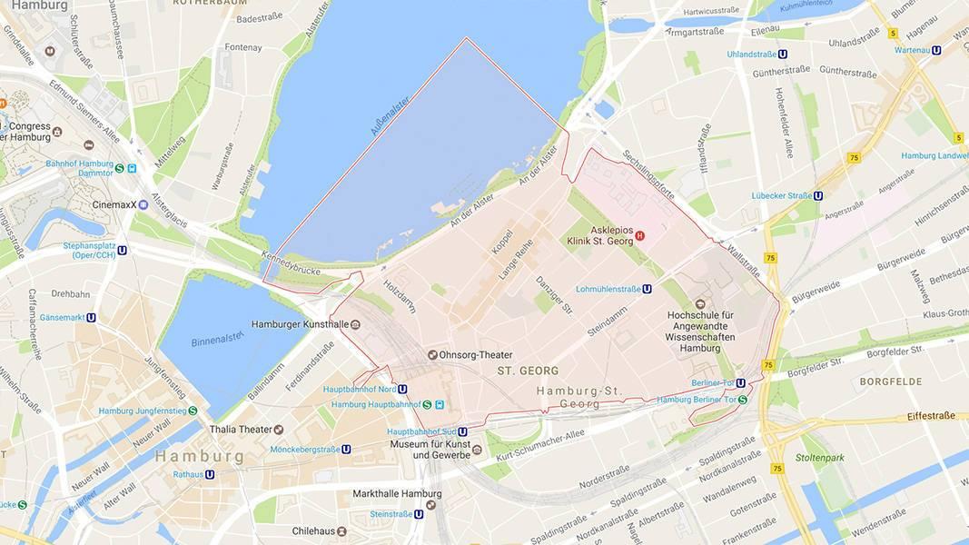 Beautyshots Hamburg Fotostudio auf der Google Maps-Karte