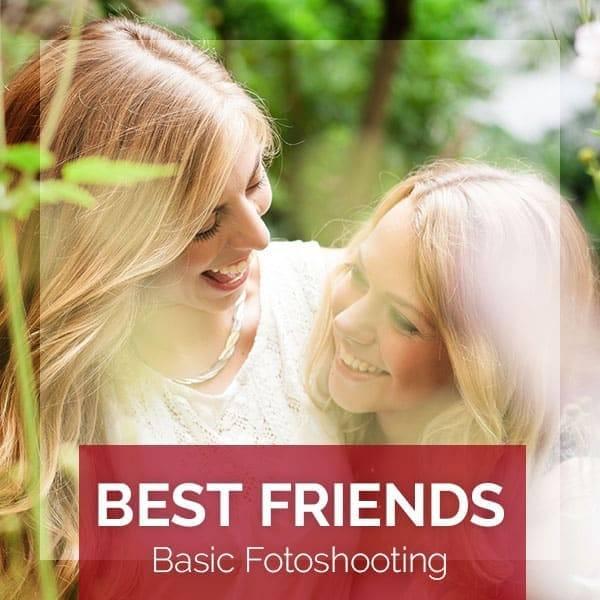 Produktbild für das BEST FRIENDS Basic Fotoshooting bei Beautyshots Hamburg