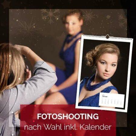 Produktbild für das Angebot: Fotoshooting nach Wahl inkl. Kalender. Bild von einer Fotografin und einem Kalender