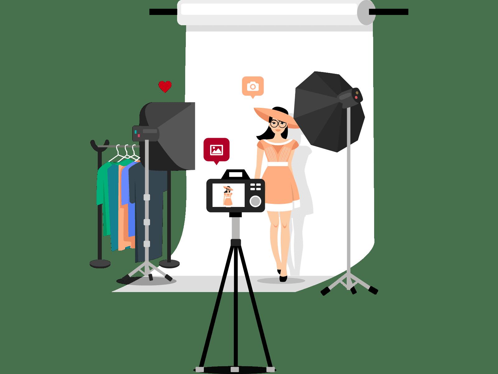 BEAUTYSHOTS Fotoshooting - Schritt 4: Fotoshooting genießen