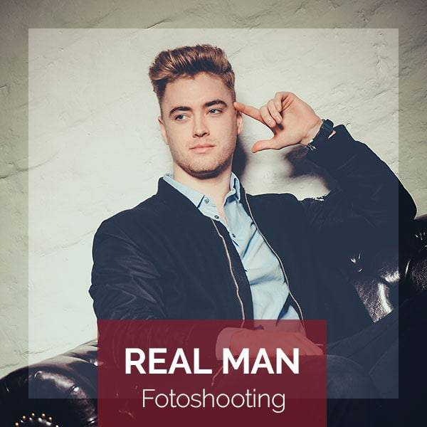 BEAUTYSHOTS Real Man Fotoshooting